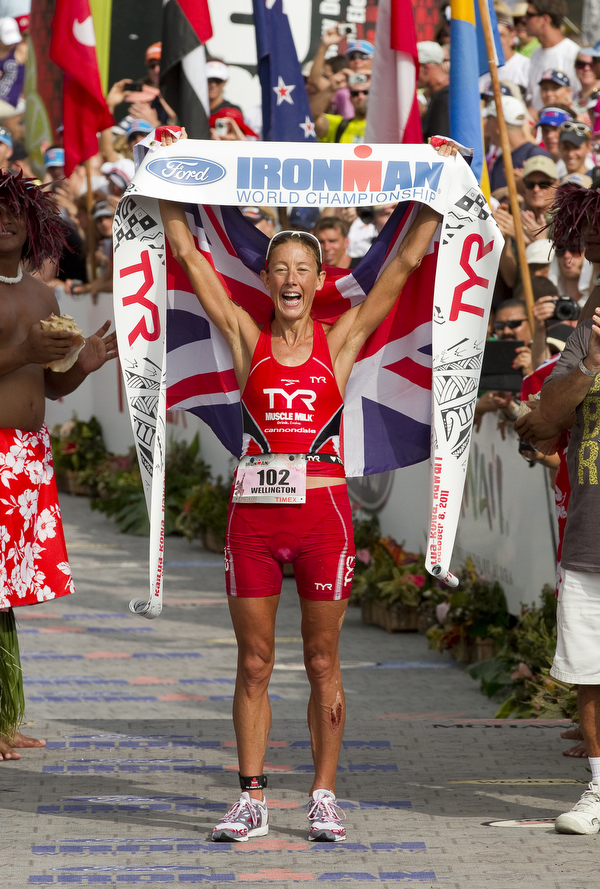 "Overcoming recent injury Chrissie Wellington returns for her fourth Kona win that she calls her ""greatest victory."""
